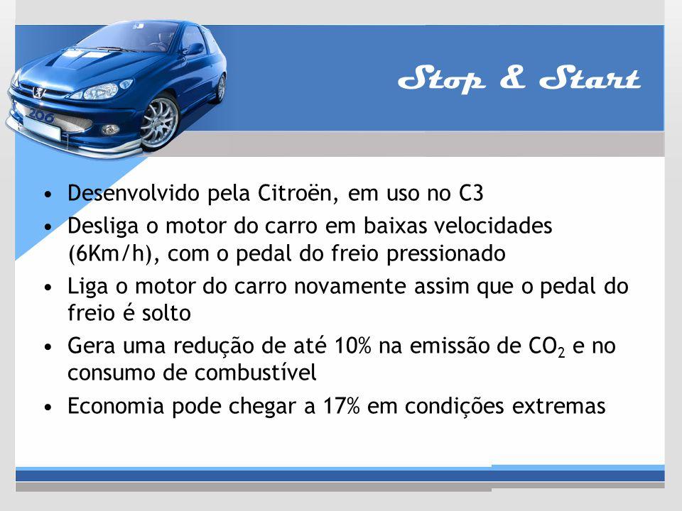 Stop & Start Desenvolvido pela Citroën, em uso no C3