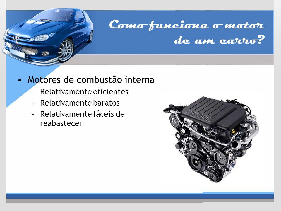 Como funciona o motor de um carro