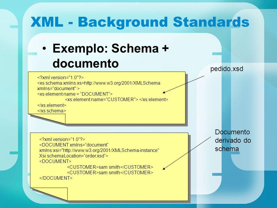 XML - Background Standards