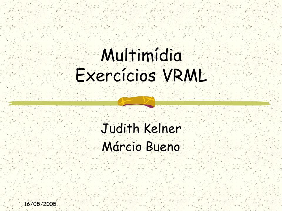 Multimídia Exercícios VRML