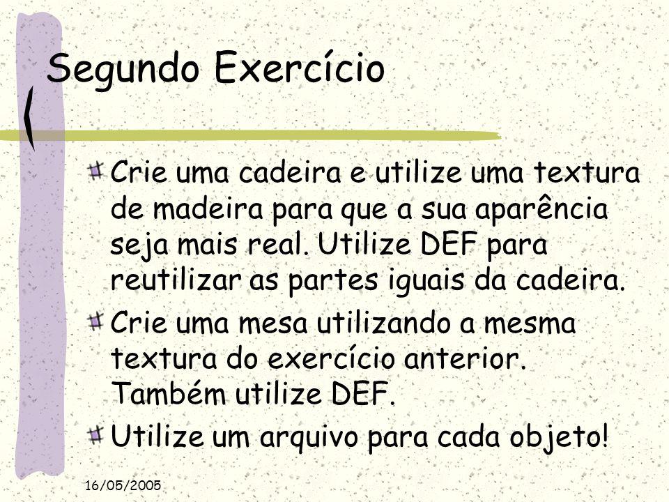 Segundo Exercício