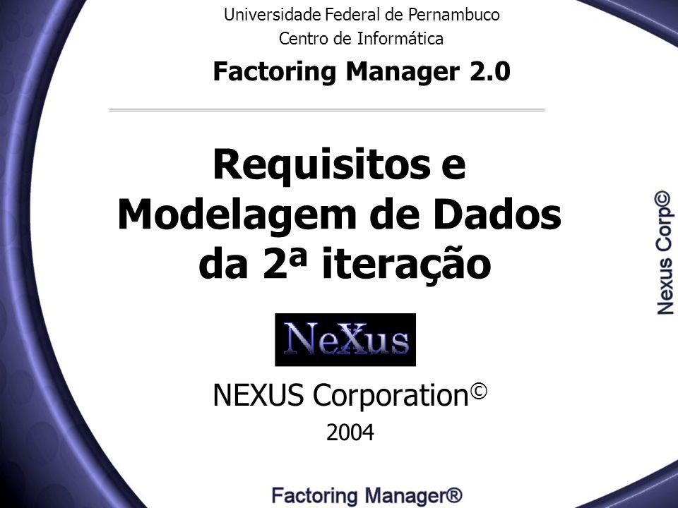 Requisitos e Modelagem de Dados da 2ª iteração