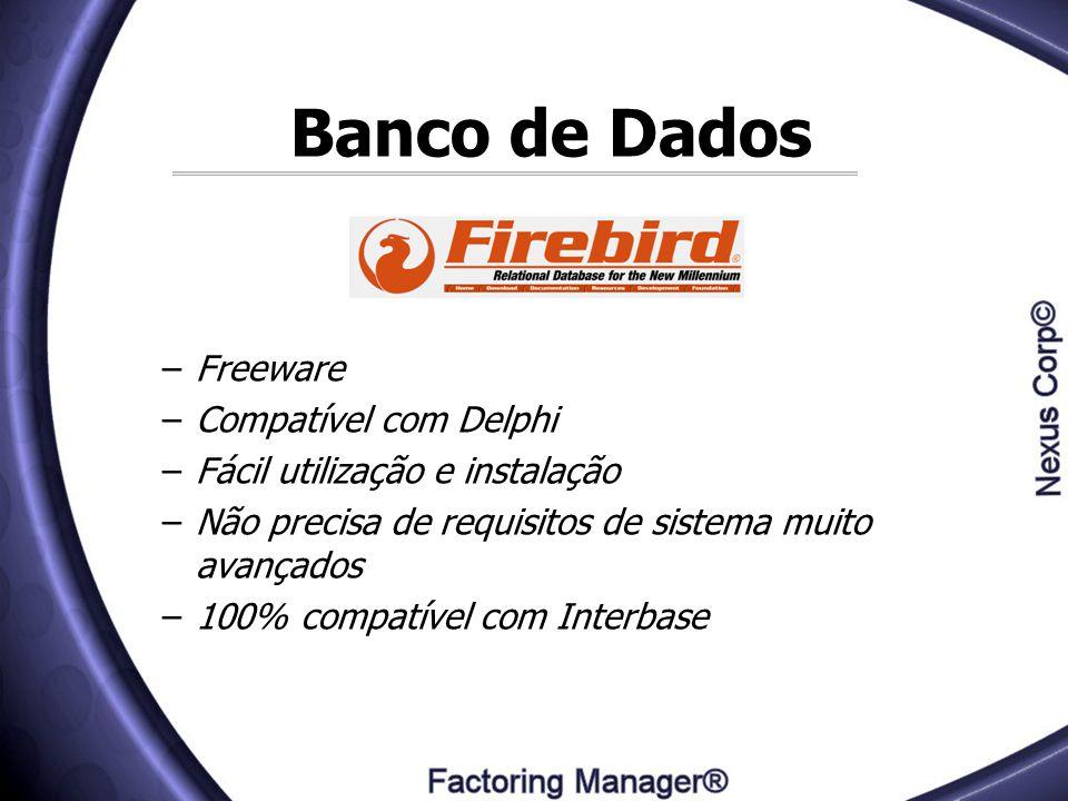 Banco de Dados Freeware Compatível com Delphi