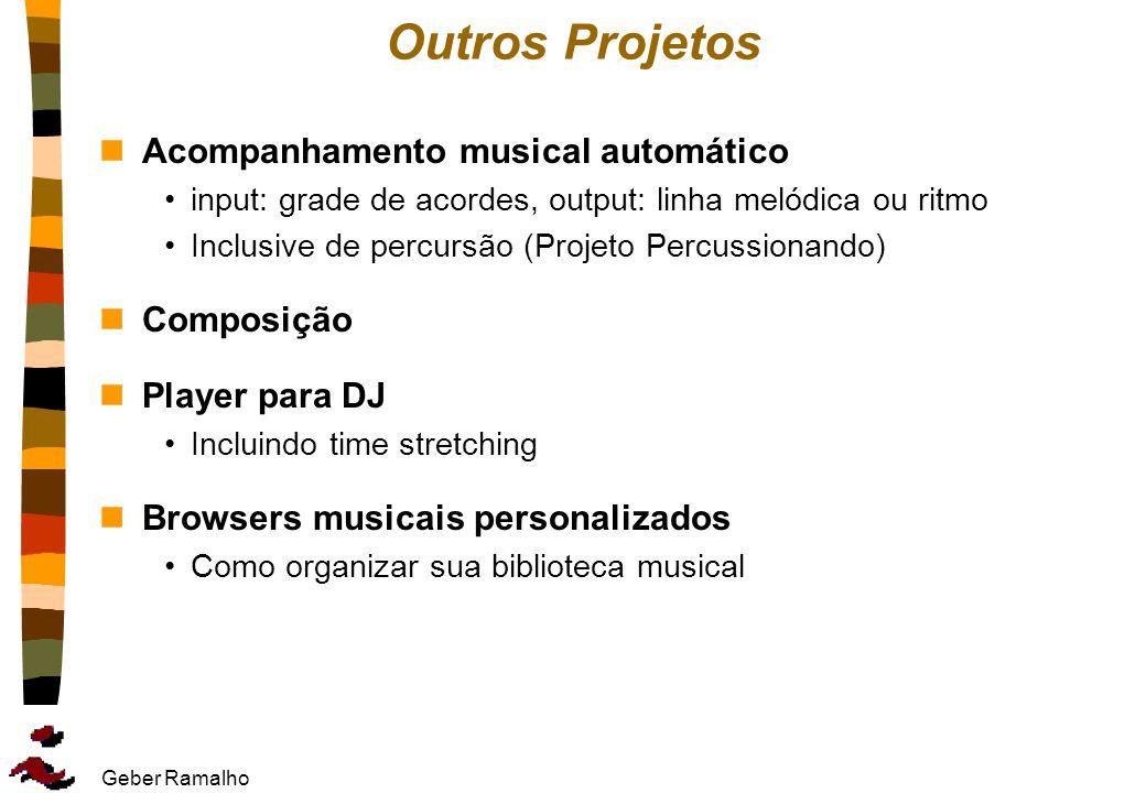 Outros Projetos Acompanhamento musical automático Composição