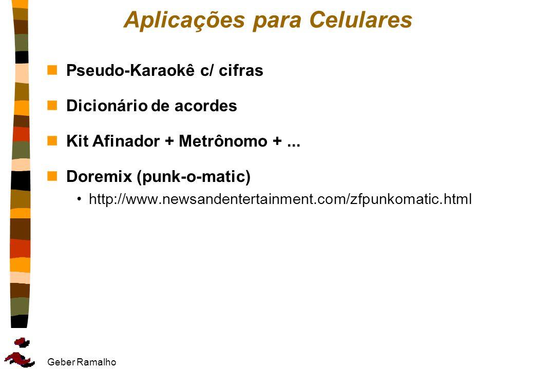 Aplicações para Celulares