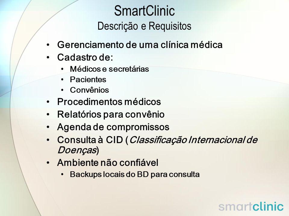 SmartClinic Descrição e Requisitos