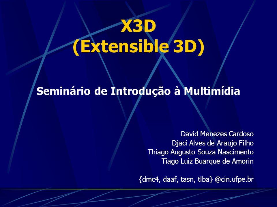 Seminário de Introdução à Multimídia