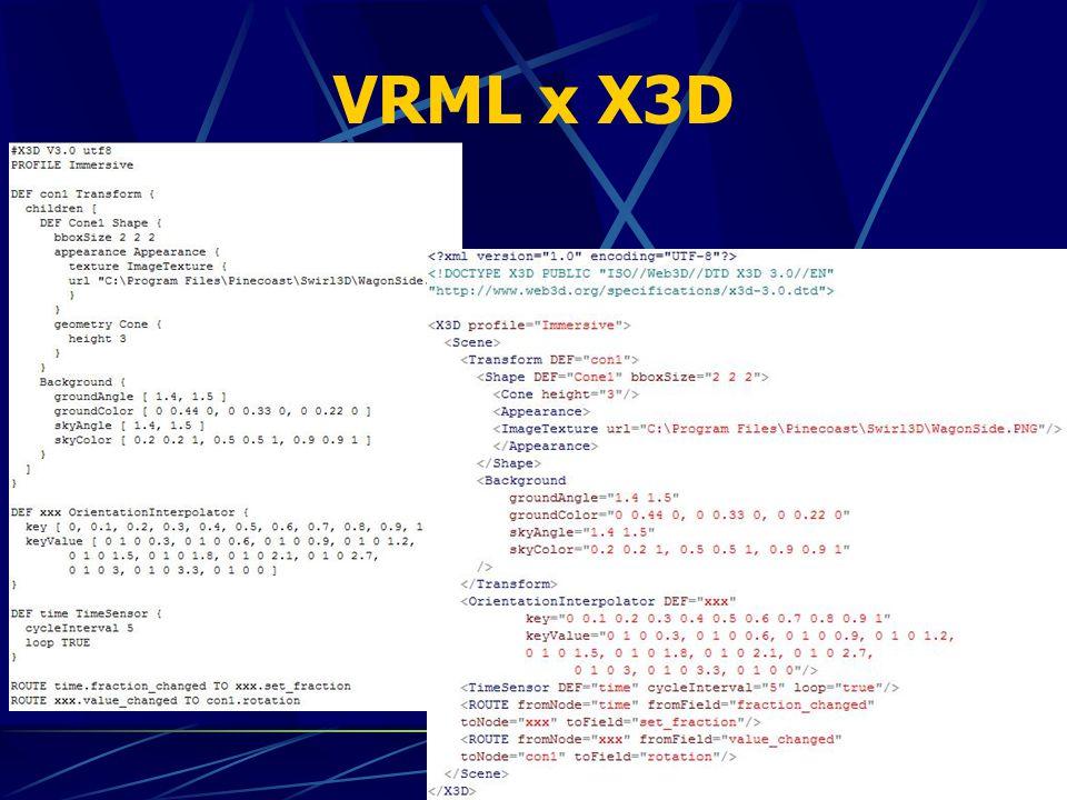 VRML x X3D