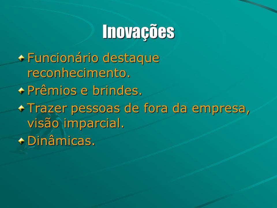 Inovações Funcionário destaque reconhecimento. Prêmios e brindes.
