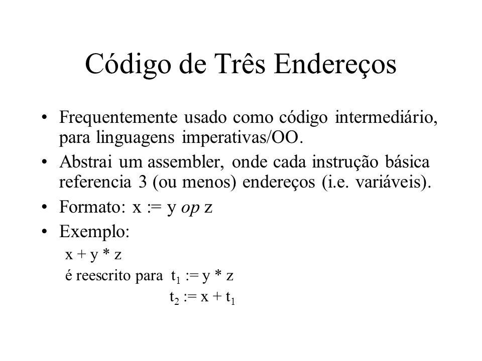 Código de Três Endereços