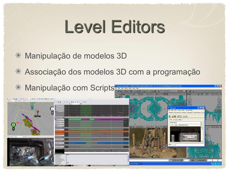 Level Editors Manipulação de modelos 3D