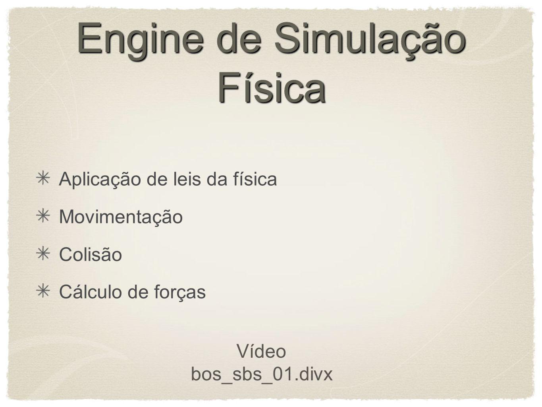 Engine de Simulação Física