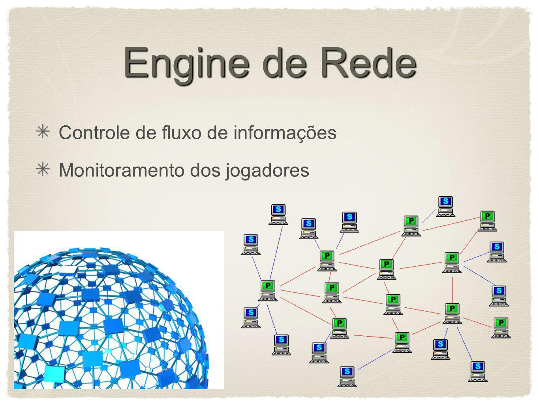 Engine de Rede Controle de fluxo de informações