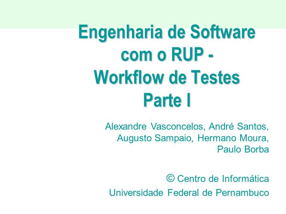 Engenharia de Software com o RUP - Workflow de Testes Parte I