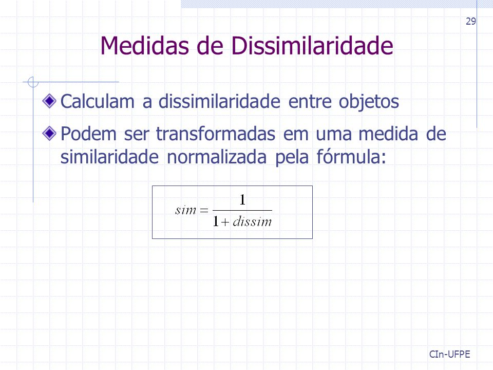 Medidas de Dissimilaridade
