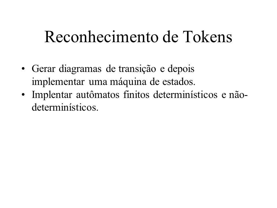 Reconhecimento de Tokens