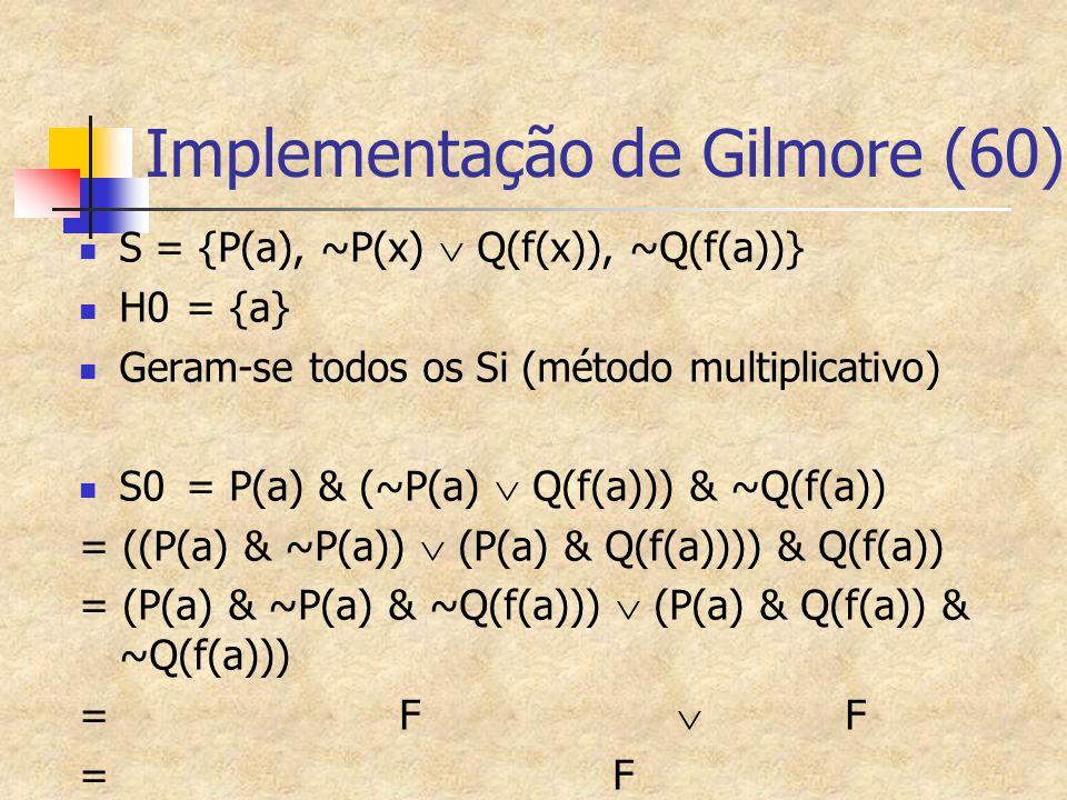 Implementação de Gilmore (60)