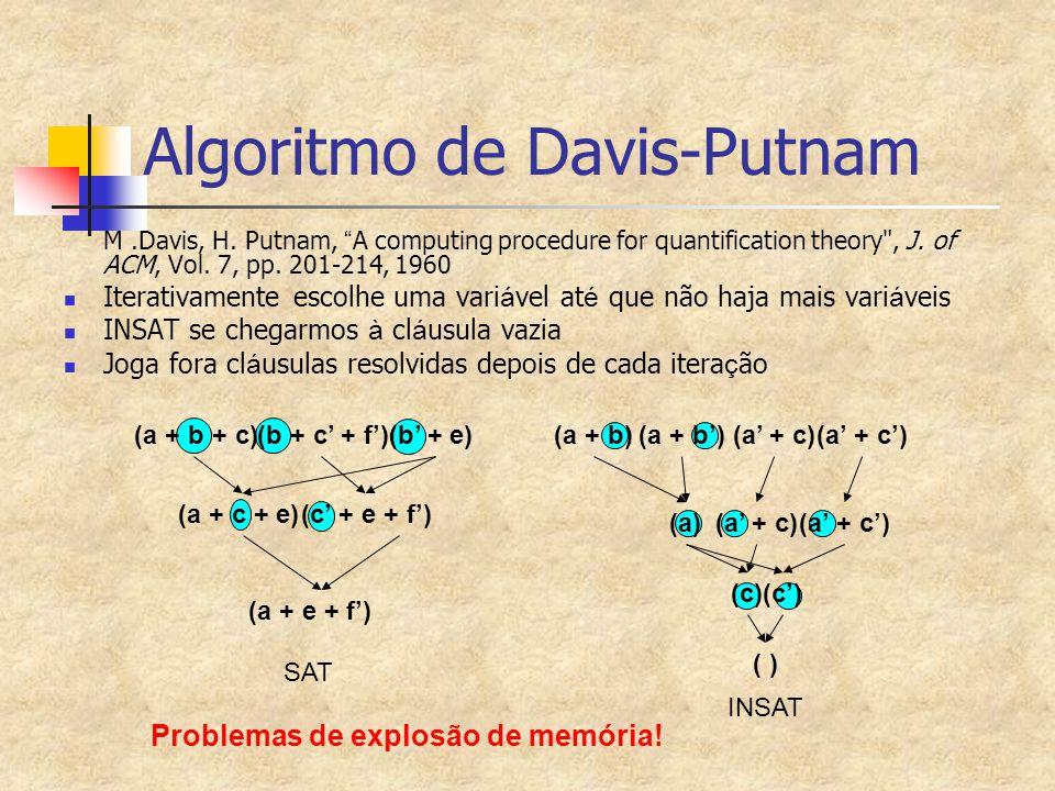 Algoritmo de Davis-Putnam
