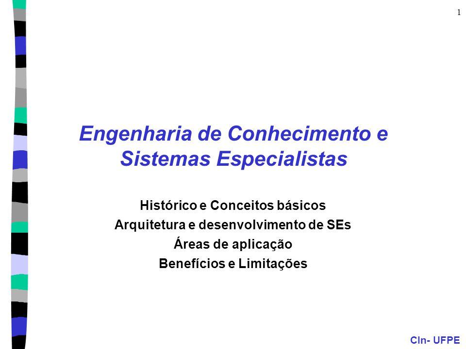 Engenharia de Conhecimento e Sistemas Especialistas