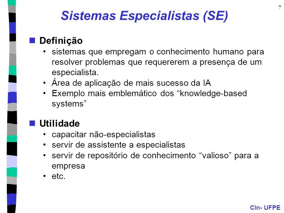 Sistemas Especialistas (SE)