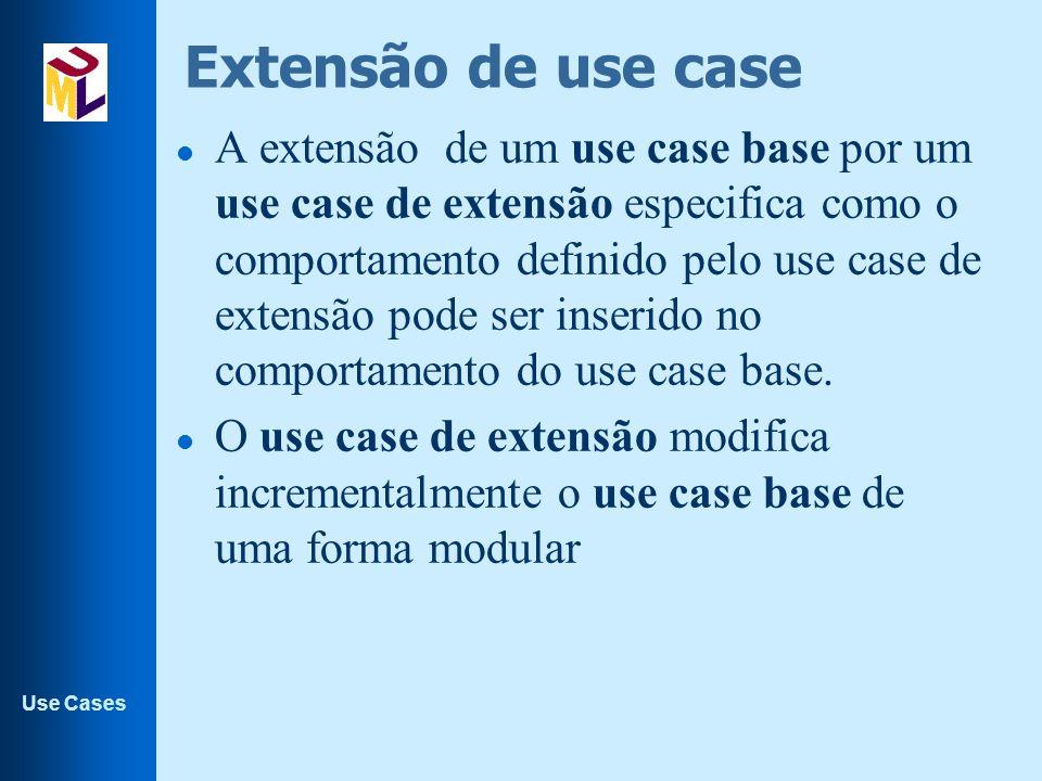 Extensão de use case
