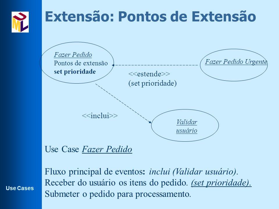 Extensão: Pontos de Extensão