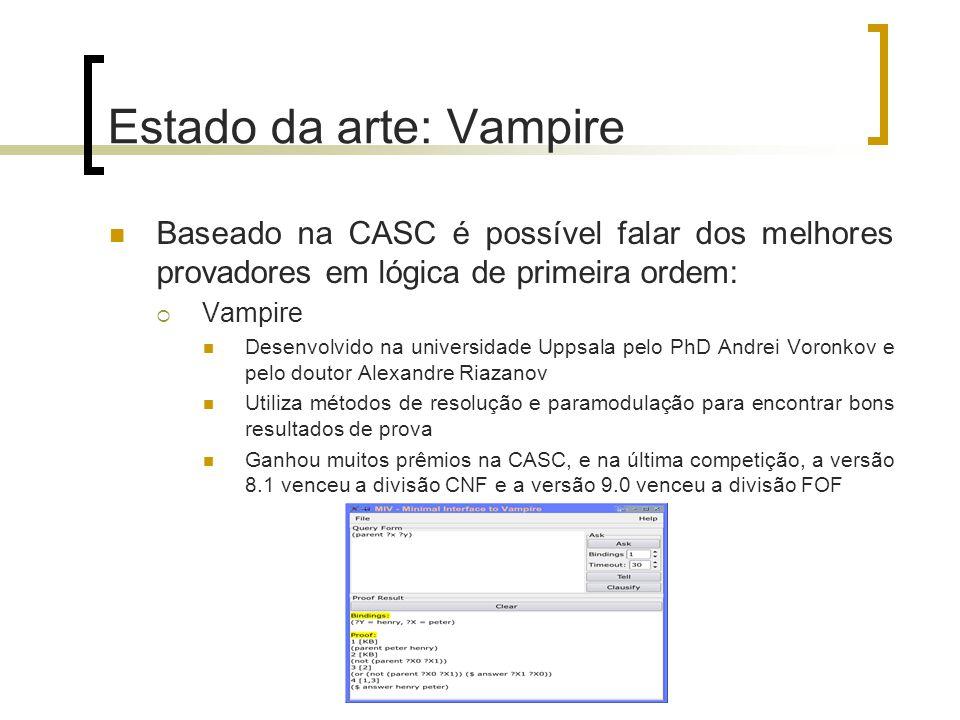 Estado da arte: Vampire