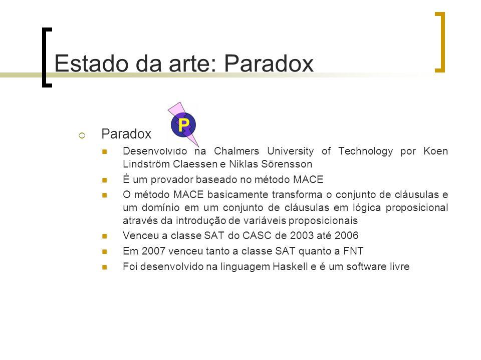 Estado da arte: Paradox