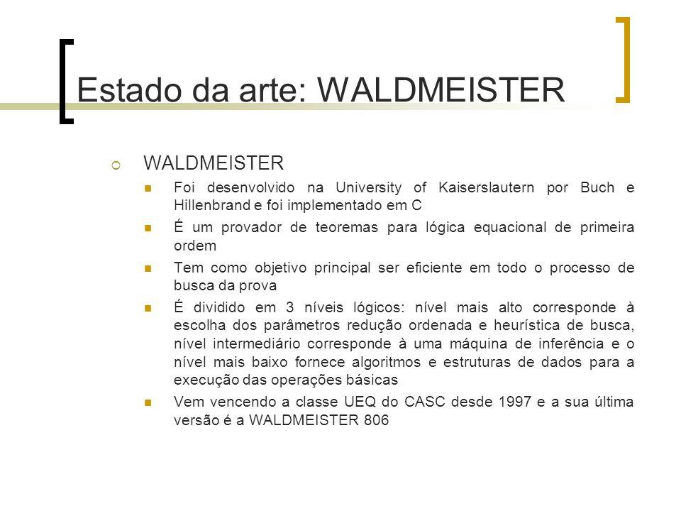 Estado da arte: WALDMEISTER