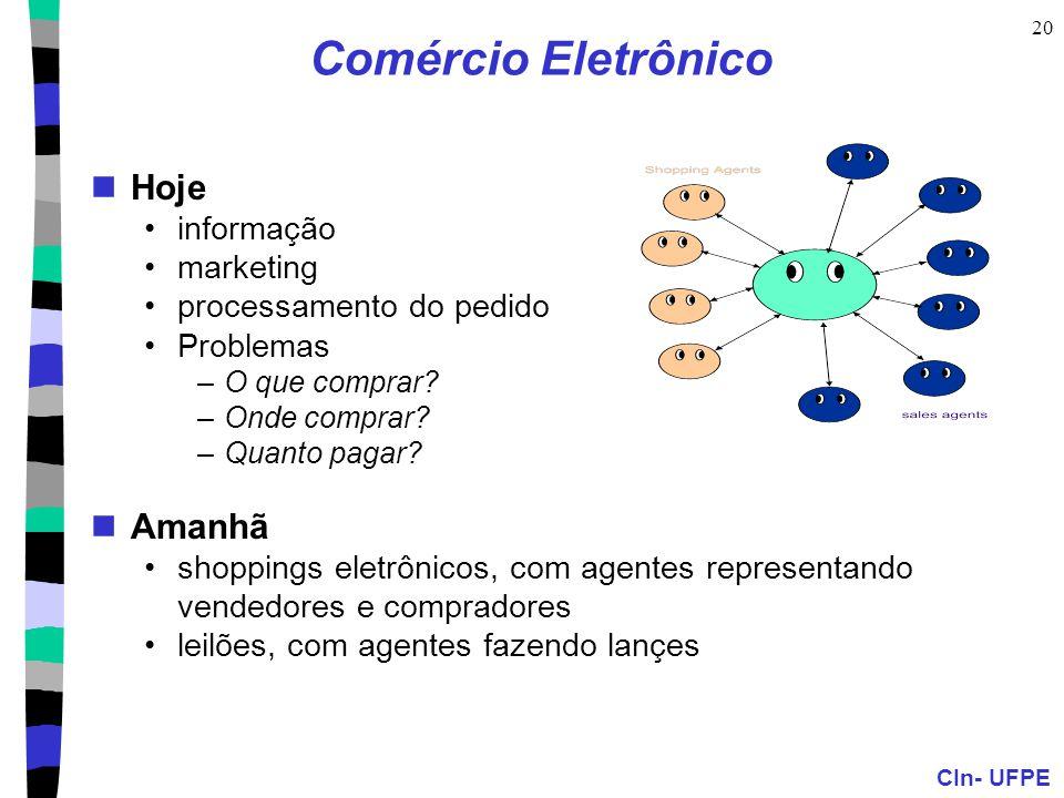 Comércio Eletrônico Hoje Amanhã informação marketing