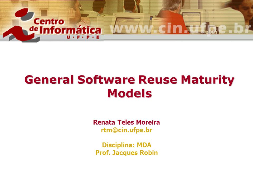 General Software Reuse Maturity Models