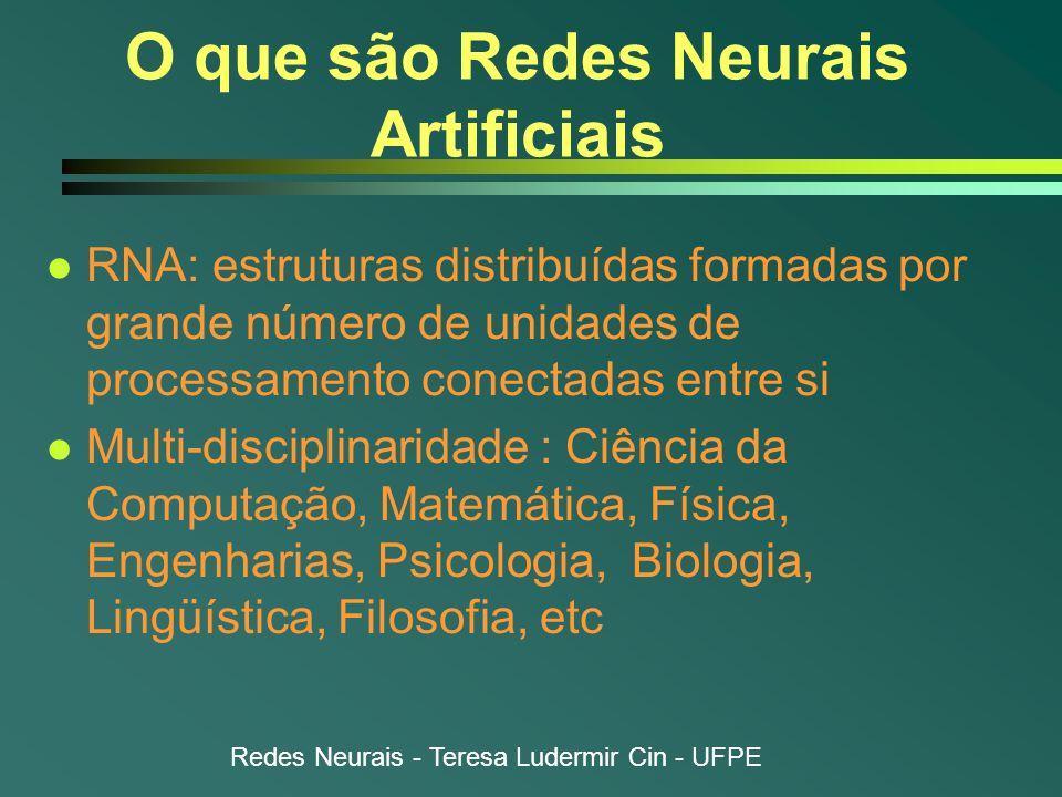 O que são Redes Neurais Artificiais