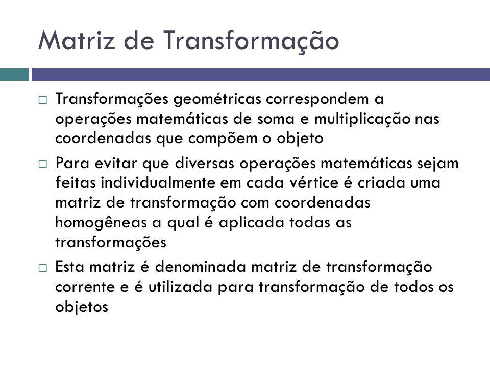 Matriz de Transformação