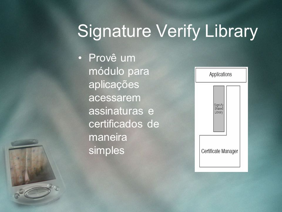 Signature Verify Library