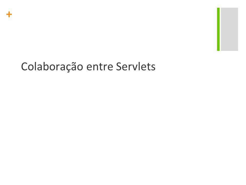 Colaboração entre Servlets