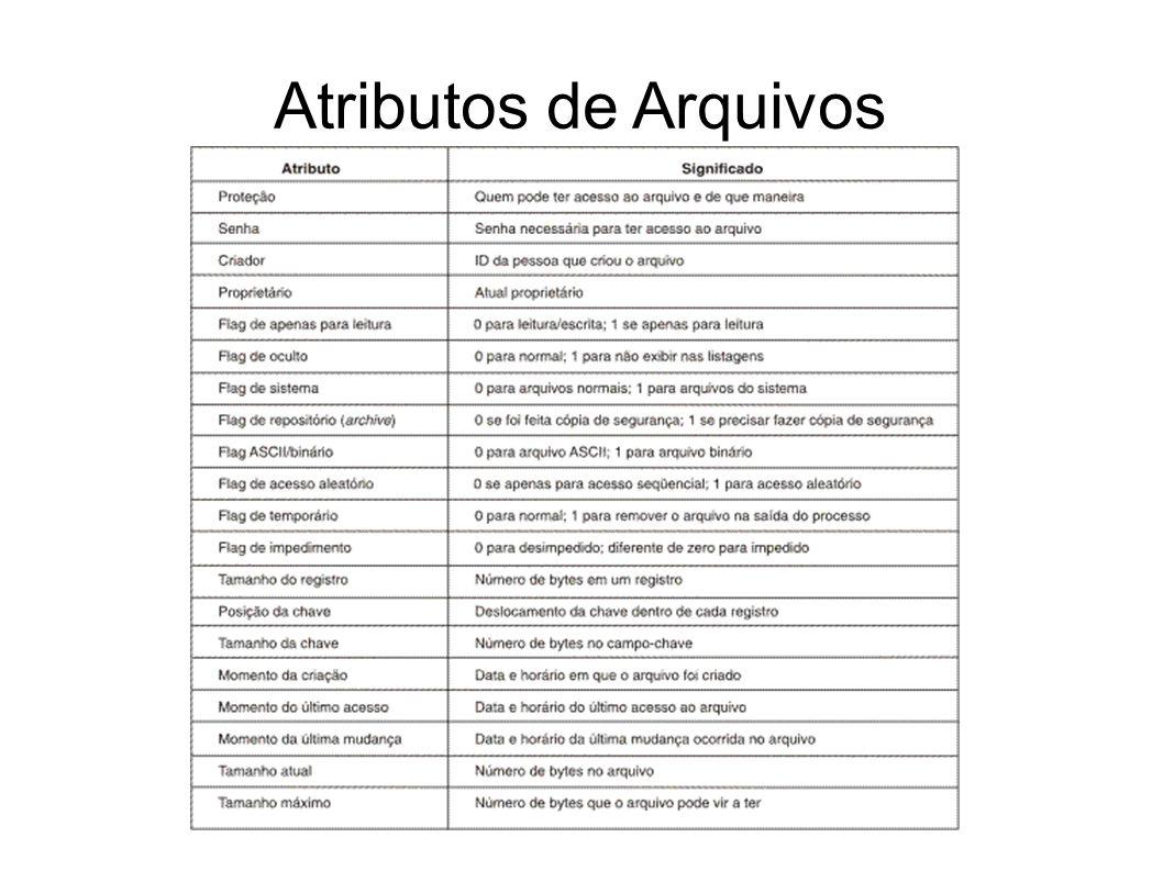 Atributos de Arquivos 20