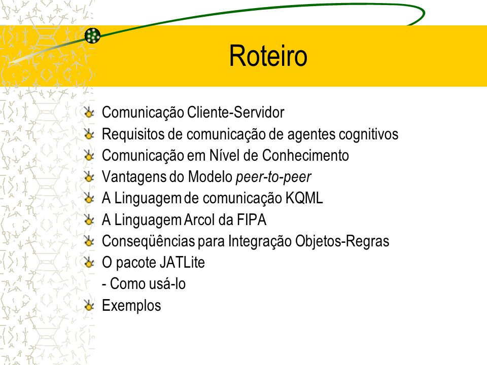 Roteiro Comunicação Cliente-Servidor