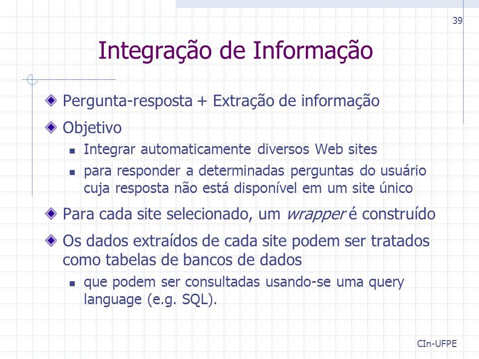 Integração de Informação