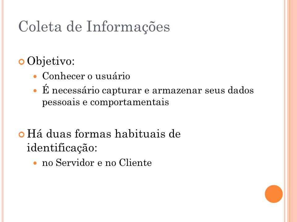 Coleta de Informações Objetivo: