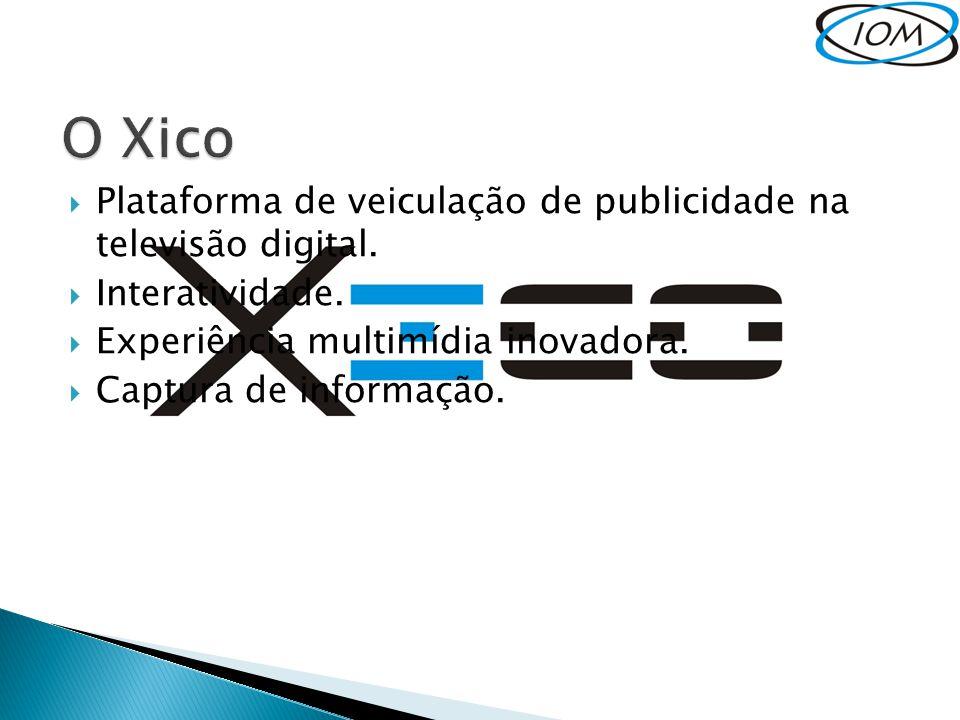 O Xico Plataforma de veiculação de publicidade na televisão digital.