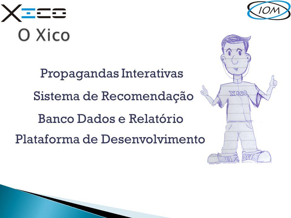 O Xico Propagandas Interativas Sistema de Recomendação