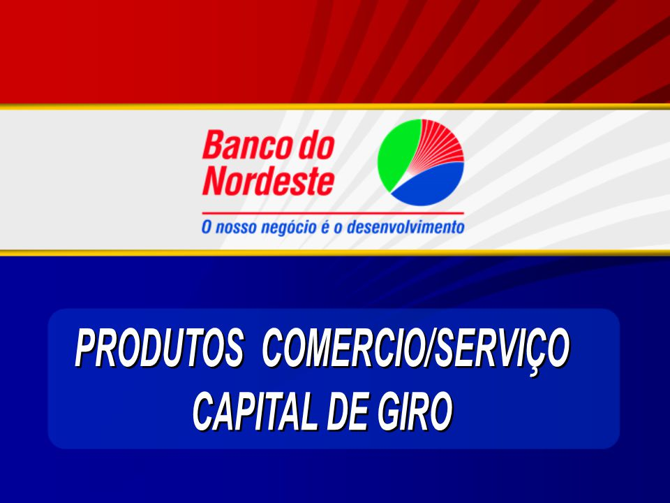 PRODUTOS COMERCIO/SERVIÇO
