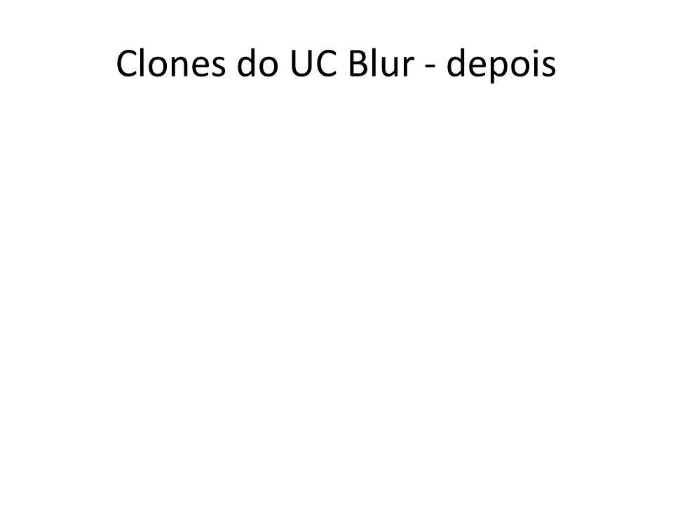 Clones do UC Blur - depois