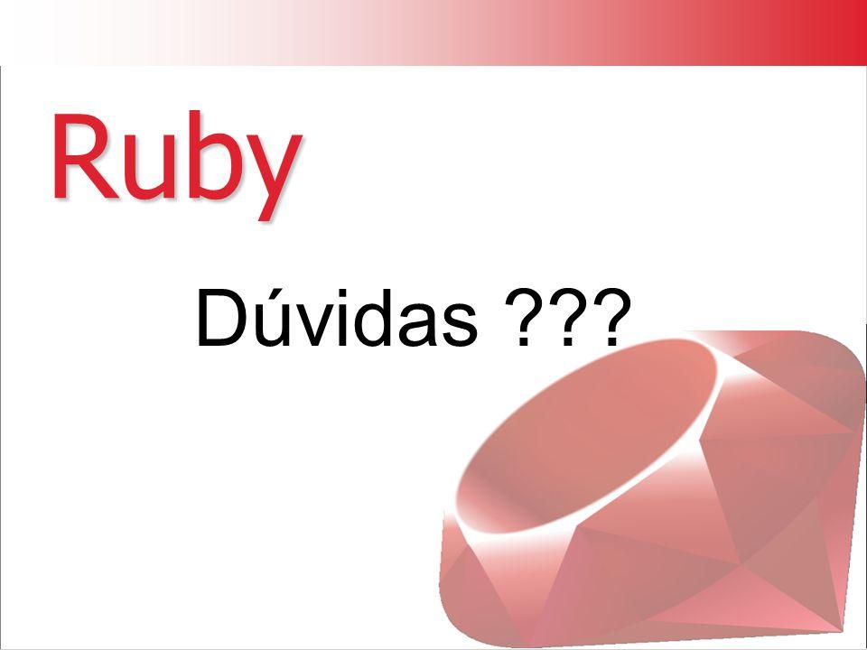 Ruby Dúvidas