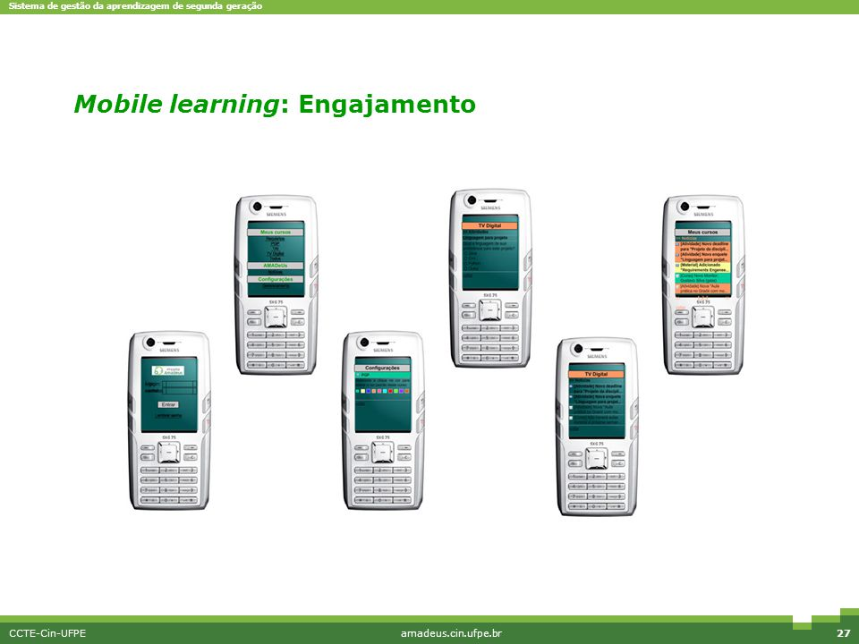 Mobile learning: Engajamento