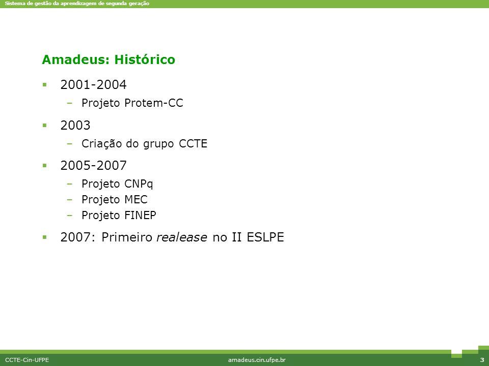 2007: Primeiro realease no II ESLPE