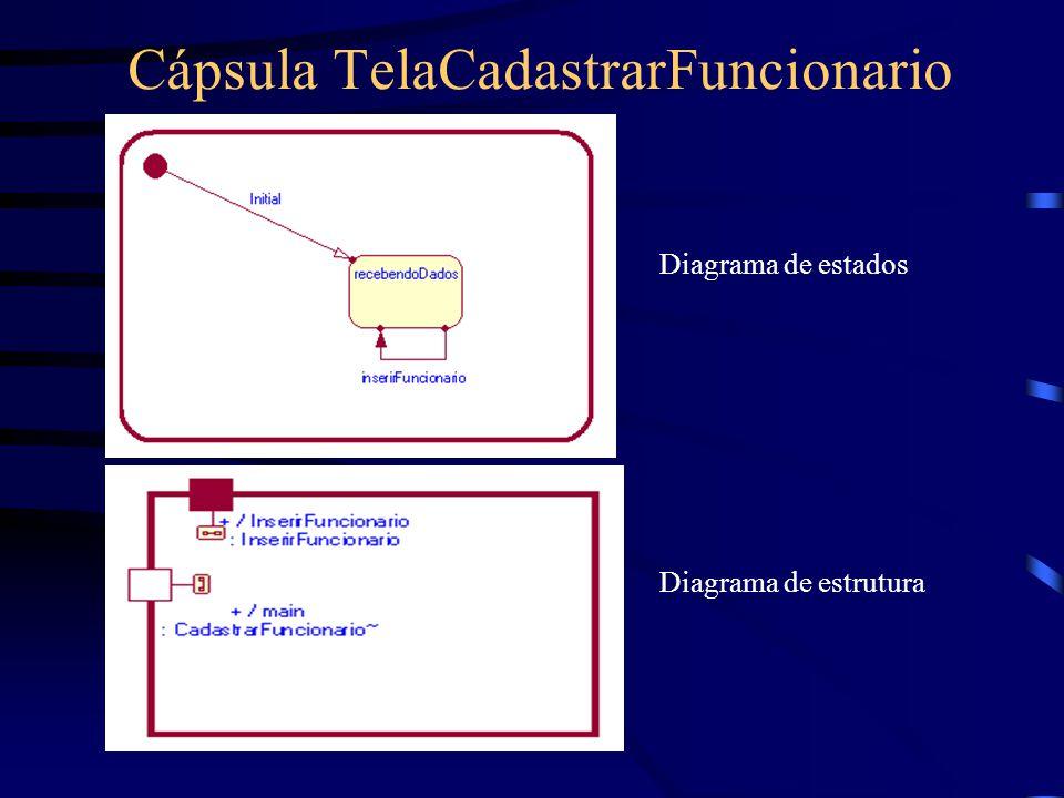 Cápsula TelaCadastrarFuncionario