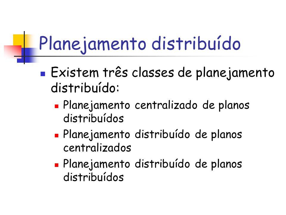Planejamento distribuído