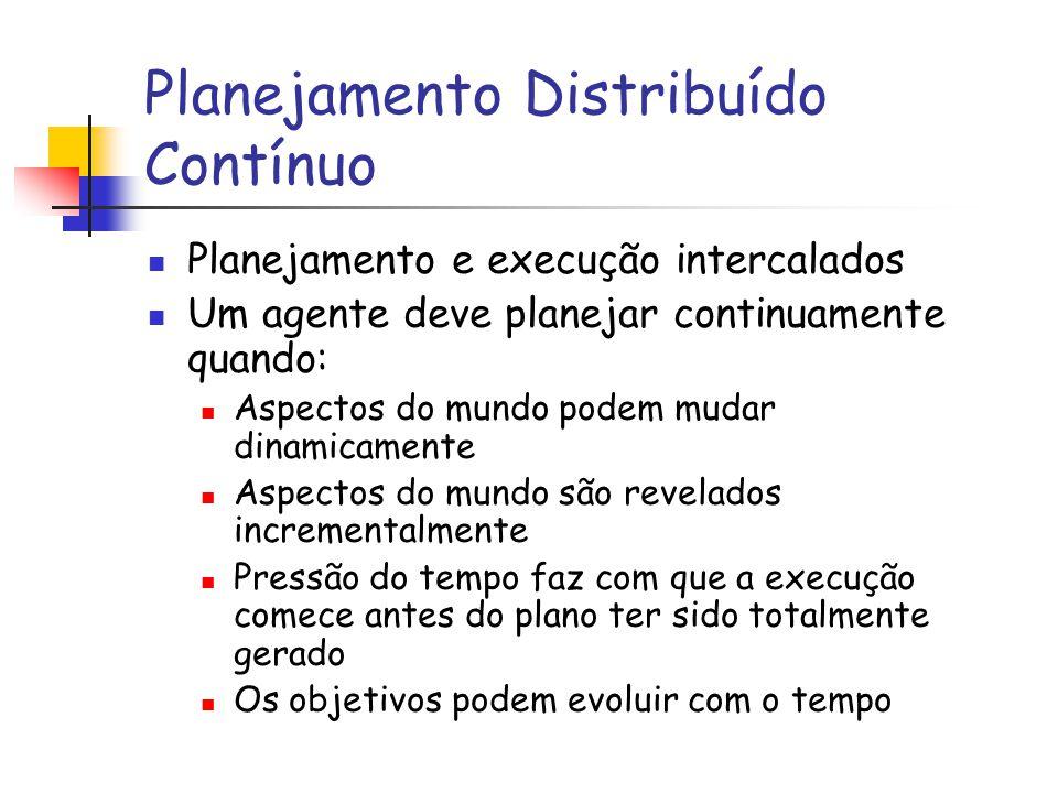 Planejamento Distribuído Contínuo