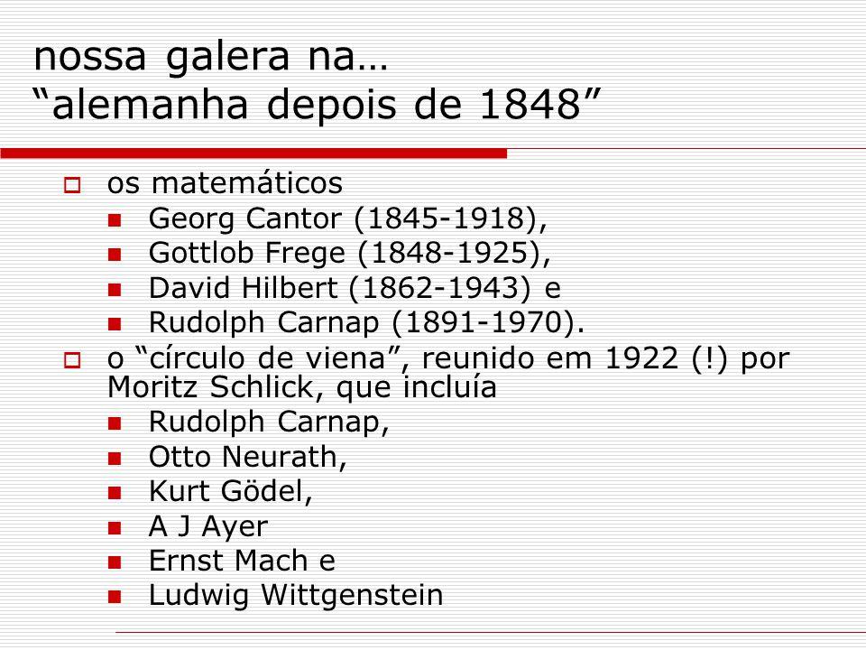 nossa galera na… alemanha depois de 1848